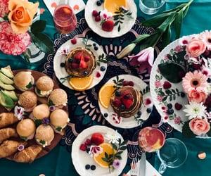 birthday, breakfast, and cake image