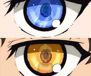anime, blue eyes, and khun image