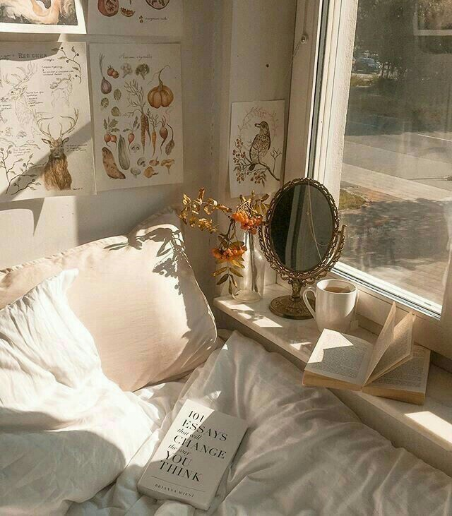 aesthetic, book, and room image