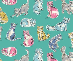 background, cat, and cath kidston image