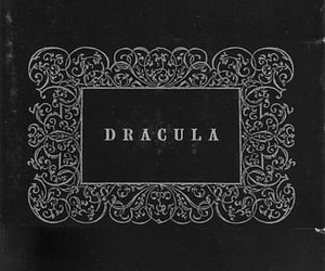 Dracula, vampire, and black and white image