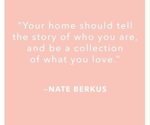 home, pink, and quotes image