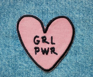 girl power, pink, and feminism image