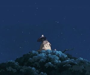 anime, totoro, and wallpaper image