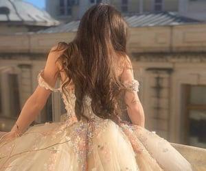 dress, princess, and fashion image
