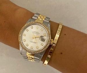 bracelet, cartier, and diamonds image
