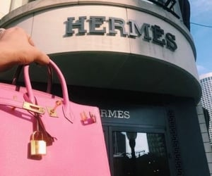 hermes, pink, and aesthetic image