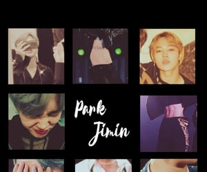 aesthetic, black, and bts image