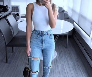 body, casual, and fashion image