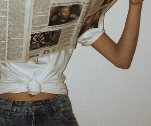 newspaper, aesthetic, and wallpaper image