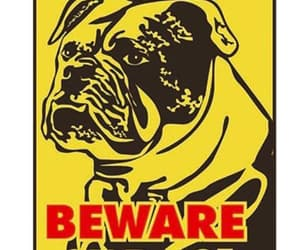 dog gifts, beware of dog sign, and dog lover gifts image