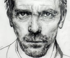 black and white, gregory house, and tv series image