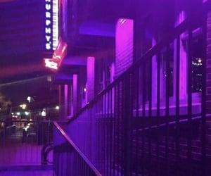 aesthetic, purple, and purple streets image