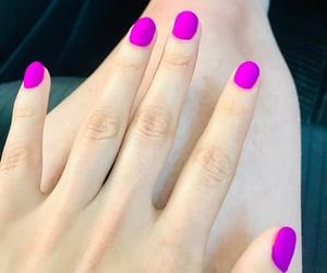girlish, nails, and neon image