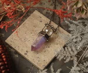 dark fashion, etsy, and witch jewelry image