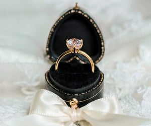 accessories, ring, and diamond image