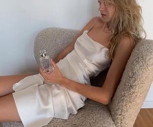 marie von behrens, white beige, and ig model image