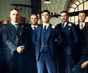 peaky blinders, michael gray, and tommy shelby image