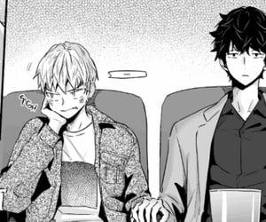 manga, monochrome, and love is an illusion image