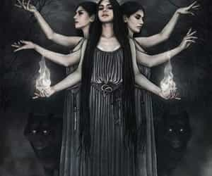 hekate, mond, and Gottin image