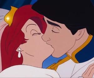 disney, ariel, and kiss image