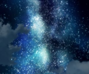 aesthetic, galaxy, and space image