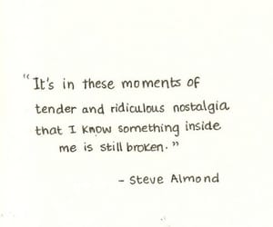 nostalgia, quote, and moment image