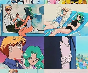 aesthetic, manga, and sailor mercury image