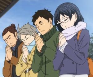 anime, asahi, and haikyuu image
