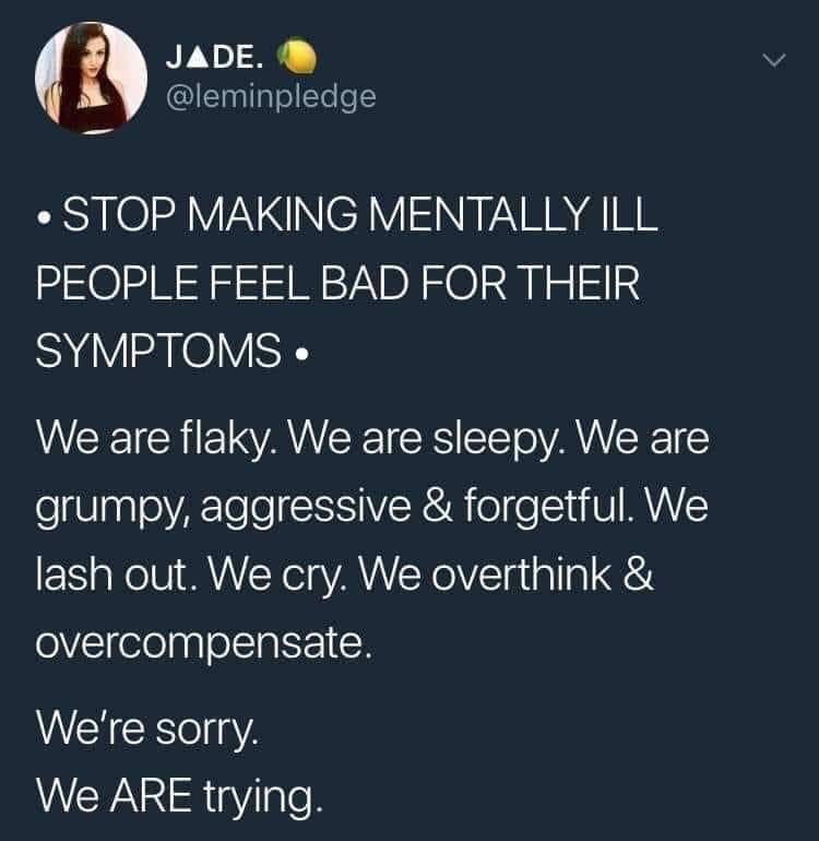 anxiety, mental health, and twitter image