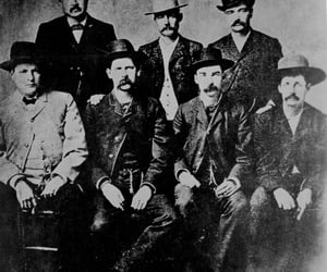 wyatt earp, dodge city, and peace commission image