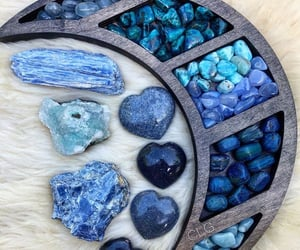 blue, stones, and witch image