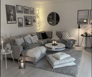 inspiration, decor, and grey image