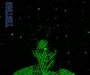 ep, green, and neon lights image