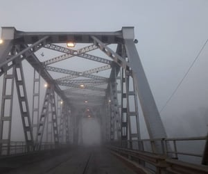 bridge, grey, and grunge image