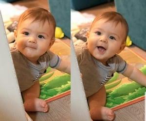 baby boy, lovely, and اطفال image
