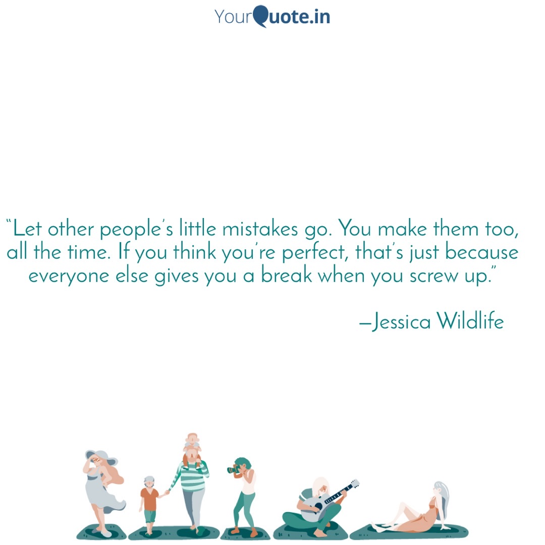 life, mistakes, and quotes image
