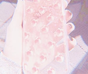 peach, aesthetic, and case image