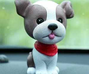 bobblehead, dog lover gifts, and boston terrier gifts image