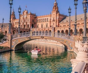 spain, travel, and architecture image