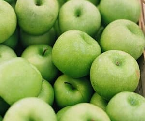 apple, green, and food image