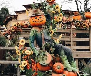 autumn, creepy, and Halloween image
