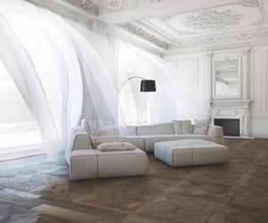 home, white, and design image