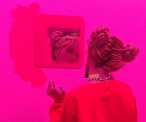hyuna, kpop, and neon image