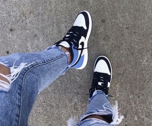 shoes, blue, and jeans image
