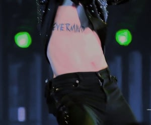 tattoo, bts, and park jimin image