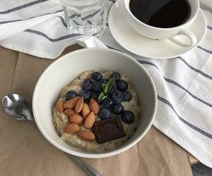 coffee and oatmeal image