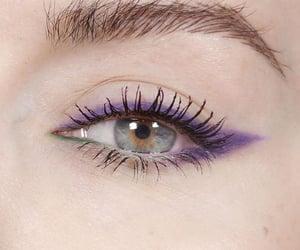 aesthetic, eye, and eye shadow image
