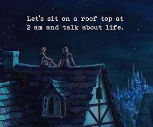 life, night, and quotes image