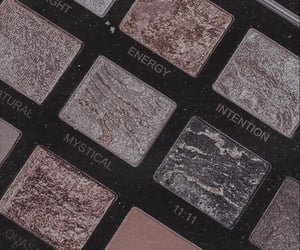 aesthetic, eyeshadow, and grey image